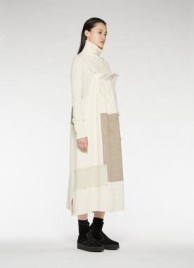 Y'S - Robe patchwork