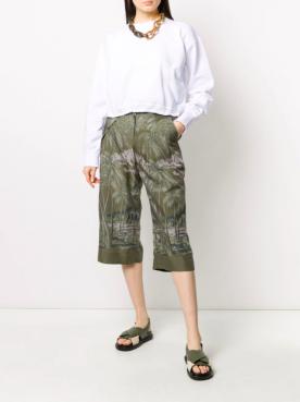 Sacai - Pantalon Kaki