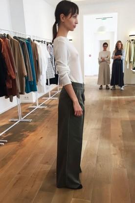 Dušan - Pantalon taille haute