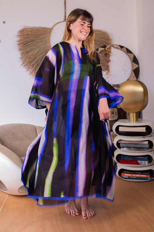 Robe caftan Cartland